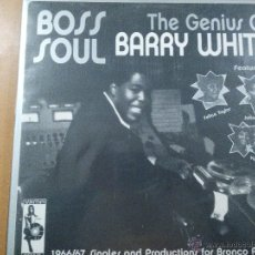 Discos de vinilo: BARRY WHITE BOSS SOUL - THE GENIUS OF BARRY WHITE LP 2003 VAMPI SOUL NUEVO¡¡. Lote 48525597