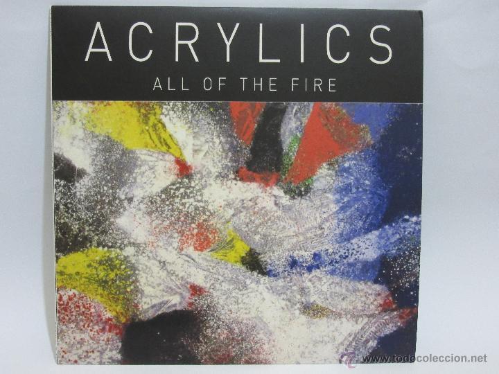 ACRYLICS - ALL OF THE FIRE - USA - EP - TERRIBLE RECORDS - 2009 - EX+/NM+ (Música - Discos de Vinilo - EPs - Pop - Rock Extranjero de los 90 a la actualidad)