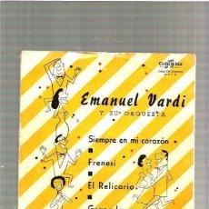 Discos de vinilo: EMANUEL VARDI. Lote 48533843