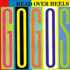 Discos de vinilo: GO GO´S-HEAD OVER HEELS SINGLE VINILO 1984 PROMOCIONAL SPAIN. Lote 48533994