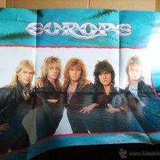 Discos de vinilo: EUROPE ---- ROCK THE NIGHT - MAXI +POSTER. Lote 47158365