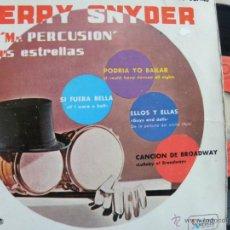 Discos de vinilo: TERRY SNYDER MR. PERCUSION -EP 1961 -PEDIDO MINIMO 3 EUROS . Lote 48543110