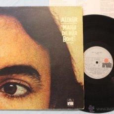 Discos de vinilo: MARIA DEL MAR BONET ALENAR LP VINYL ARIOLA SPAIN 1977. Lote 48544010