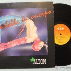 Discos de vinilo: QUE BAILE TU CUERPO ALTON LP VINILO CBS MADE IN SPAIN 1984. Lote 48544457