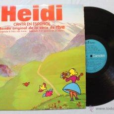Discos de vinilo: HEIDI CANTA EN ESPAÑOL PROMOCIONAL BSO RTVE VOL.3 CAP.6 CAP. 7 LP VINILO RCA MADE IN SPAIN 1975. Lote 48544539