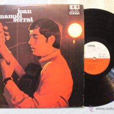 Discos de vinilo: JOAN MANUEL SERRAT ( ELS SETZE JUTGES ) PRIMER LP VINILO SPAIN EDIGSA 1967 EXCELENTE. Lote 48544642
