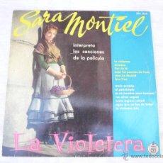 Discos de vinilo: LP SARA MONTIEL LA VIOLETERA. Lote 48545008
