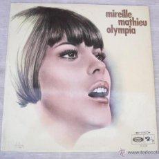 Discos de vinilo: LP MIREILLE MATHIEU OLIMPIA. Lote 48545121