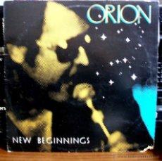 Discos de vinilo: ORION - NEW BEGINNINGS - ARON RECORDS RDR-13 - (JIMMY ELLIS) RARISIMO Y MUY DIFICIL. Lote 48514098