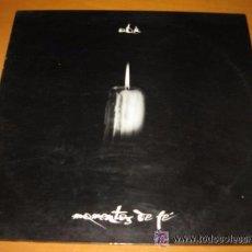 Discos de vinilo: OBK - MOMENTOS DE FE - MADE IN SPAIN 1993 - INCLUYE ENCARTES - LP. Lote 48550356