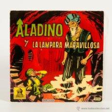 Discos de vinilo: ALADINO Y LA LAMPARA MARAVILLOSA 1961. Lote 48550687