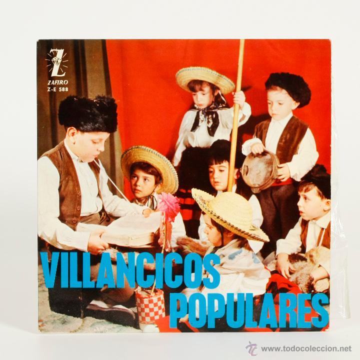 NAVIDAD - VILLANCICOS POPULARES - 1964 (Música - Discos de Vinilo - EPs - Música Infantil)