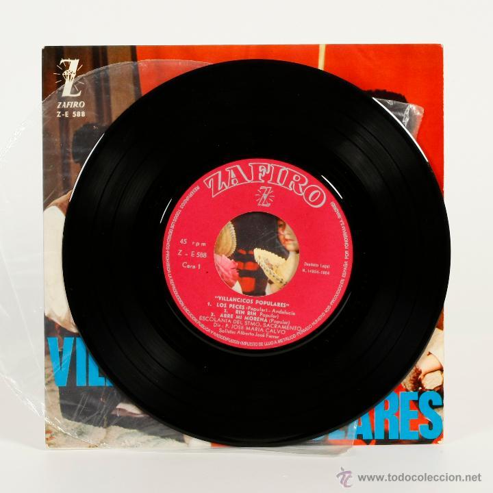 Discos de vinilo: NAVIDAD - VILLANCICOS POPULARES - 1964 - Foto 3 - 48550842
