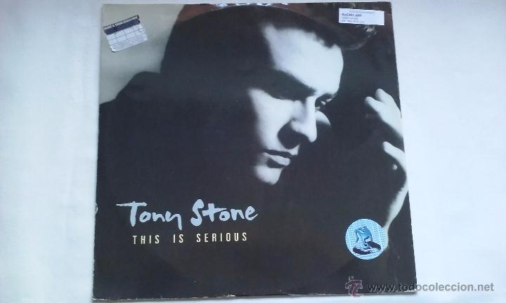 TONY STONE - THIS IS SERIOUS - 1988 (Música - Discos de Vinilo - Maxi Singles - Disco y Dance)