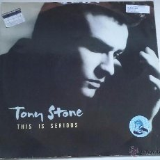Discos de vinilo: TONY STONE - THIS IS SERIOUS - 1988. Lote 48555853