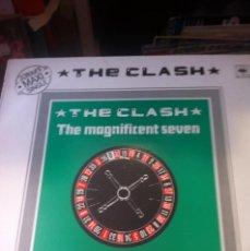 Discos de vinilo: THE CLASH / THE MAGNIFICENT SEVEN / EDICION FRANCESA / CBS 1981. Lote 48558947
