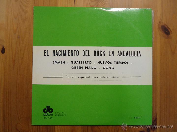 EL NACIMIENTO DEL ROCK EN ANDALUCIA (DIABOLO-1978) SMASH, GUALBERTO, GONG,...- PSYCH PROG 2LP'S (Música - Discos - LP Vinilo - Grupos Españoles de los 70 y 80)