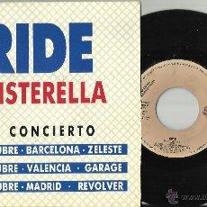 Discos de vinilo: RIDE SINGLE PROMOCIONAL TWISTERELLA- ESPAÑA CON FECHAS DE LA GIRA-1992.. Lote 53489674