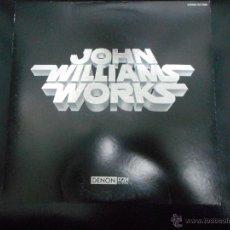 Discos de vinilo: NUEVO E INEDITO DISCO DE 1979 MADE IN JAPAN JOHN WILLIAMS WORKS. Lote 48575109