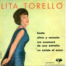 LITA TORELLÓ, EP, BASTA + 3, AÑO 1961