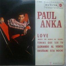 Discos de vinilo: PAUL ANKA - LOVE +3. Lote 48578900