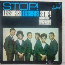 Discos de vinilo: STOP LES SURFS LES SURFS STOP. Lote 48579051