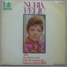 Discos de vinilo: NURIA FELIU - ALFIE +3. Lote 48579111