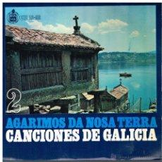 Discos de vinilo: CORAL DE RUADA DE ORENSE - FOLIADA DE MARÍN / FARRUQUIÑA / MUIÑEIRA DE GAITAS + 3 - EP 1959. Lote 48585055