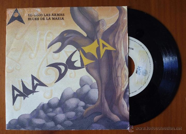 ALA DELTA, YO ODIO LAS ARMAS + BLUES DE LA MARIA (SNIF 1989) SINGLE PROMOCIONAL (Música - Discos - Singles Vinilo - Grupos Españoles de los 70 y 80)