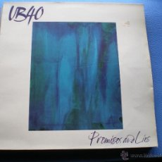 Discos de vinilo: UB 40 PROMISES AND LIES UK 1993 VIRGIN PDELUXE. Lote 48589044
