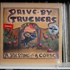 Discos de vinilo: DRIBE BY TRUCKERS, A BLESSING AND A CURSE, NEW WEST RECORDS, 2007, MADE IN USA, LP, NUEVO, PRECINTAD. Lote 48590614