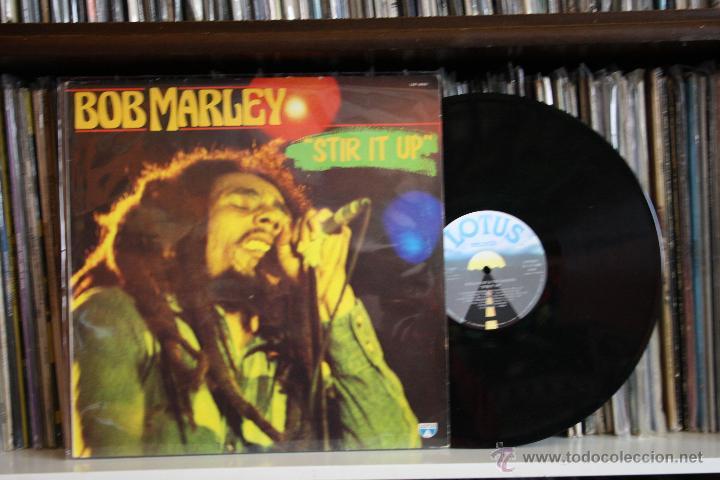 BOB MARLEY STIR IT UP, LOTUS RECORDS, 1981, MADE IN ITALY, LP (Música - Discos - LP Vinilo - Reggae - Ska)