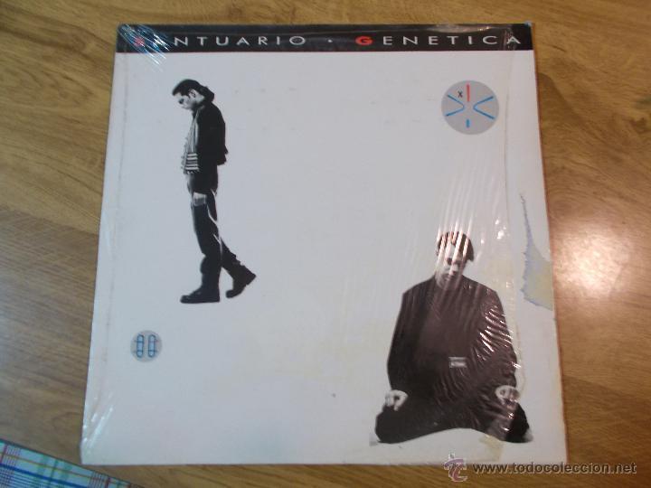 SANTUARIO GENETICA. (Música - Discos - LP Vinilo - Grupos Españoles de los 90 a la actualidad)