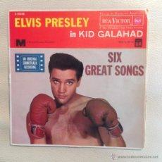 Discos de vinilo: EP ELVIS PRESLEY - EDICION ESPAÑOLA 1962 - 5 CANCIONES !! EX / EX. Lote 48597642