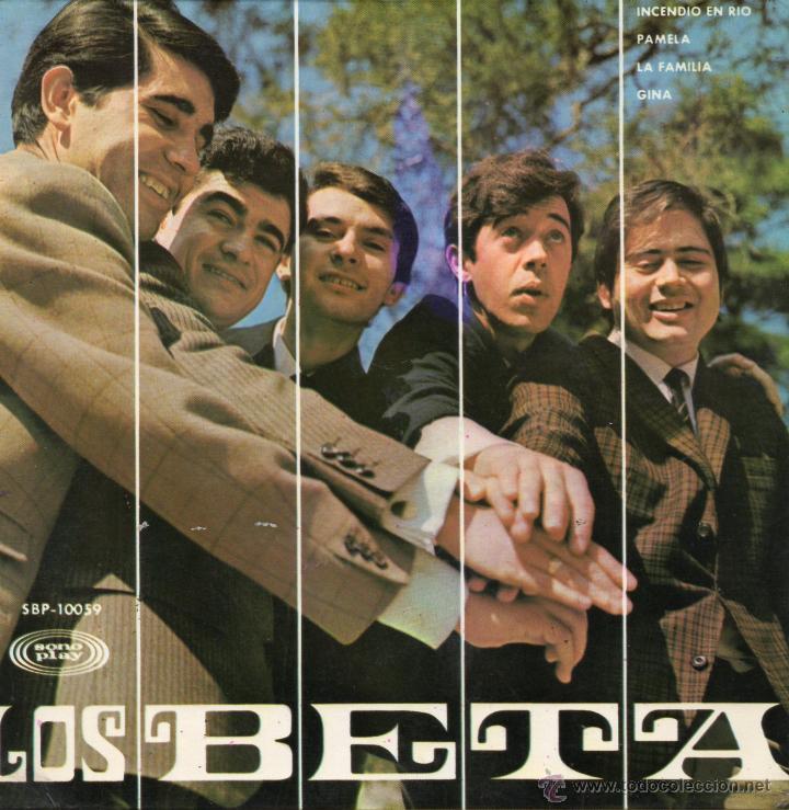 BETA, LOS, EP, INCENDIO EN RIO + 3, AÑO 1967 (Música - Discos de Vinilo - EPs - Grupos Españoles 50 y 60)