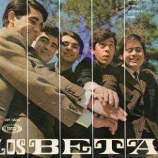 Discos de vinilo: LOS BETA, EP, INCENDIO EN RIO + 3, AÑO 1967. Lote 48597777