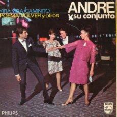 Discos de vinilo: ANDRE Y SU CONJUNTO, EP, YIRA, YIRA + 3, AÑO 1966. Lote 48597904
