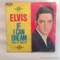 Discos de vinilo: SINGLE ELVIS PRESLEY - EDICION ESPAÑOLA 1968. Lote 48597910