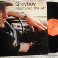 Discos de vinilo: GREYBOY - '' MASTERED THE ART '' 2 LP USA. Lote 48600009