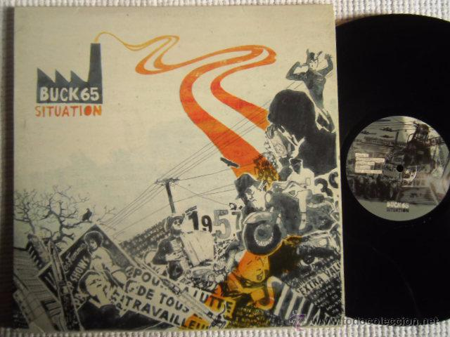 BUCK 65 - '' SITUATION '' 2 LP USA (Música - Discos - LP Vinilo - Rap / Hip Hop)