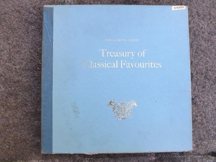 TREASURY OF CLASSICAL FAVOURITES. (Música - Discos - LP Vinilo - Clásica, Ópera, Zarzuela y Marchas)