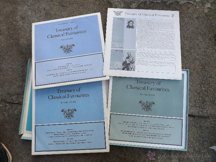 Discos de vinilo: Treasury of Classical Favourites. - Foto 3 - 48604847