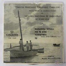 Discos de vinilo: ORFEON MURCIANO. Lote 155252558