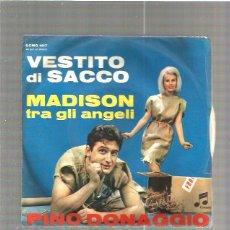 Discos de vinilo: PINO DONAGGIO VESTITO SACCO. Lote 48608363