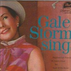 Discos de vinilo: GALE STORM SINGS. Lote 48608576