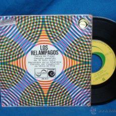 Discos de vinilo: - LOS RELAMPAGOS - DANZA DEL FUEGO + 3 - ZAFIRO 1968. Lote 48608774