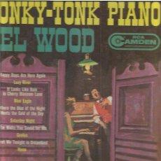 Discos de vinilo: DEL WOOD HONKY TONK PIANO. Lote 48608832
