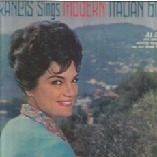Discos de vinilo: CONNIE FRANCIS SINGS MODERN ITALIAN HITS . Lote 48608888