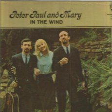 Discos de vinilo: PETER PAUL MARY IN THE WIND. Lote 48609507