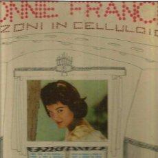 Discos de vinilo: CONNIE FRANCIS CANZONI IN CELLULOIDE. Lote 48609624